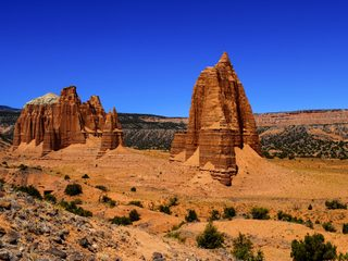 20210213171752-Pinnacle sandstone towers in Capitol Reef National Park.jpg