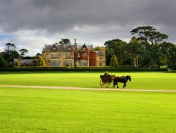 Killarney National Park Muckross House with carriage