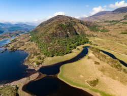 Killarney National Park aerial view