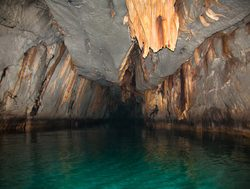 Puerto Princesa Subterranean River  view of the cave