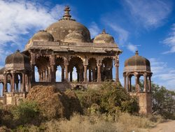 Ranthambore National Park old fort centerpiece