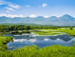 Scenic Shiretoko National Park